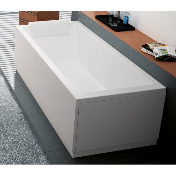 Baignoire noire balneo baignoire baln o pure design concept detente blancsanitaire - Baignoire noire ...
