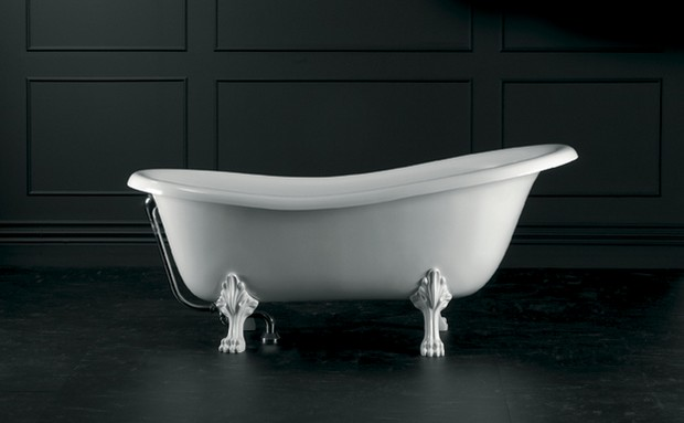 baignoire à l ancienne