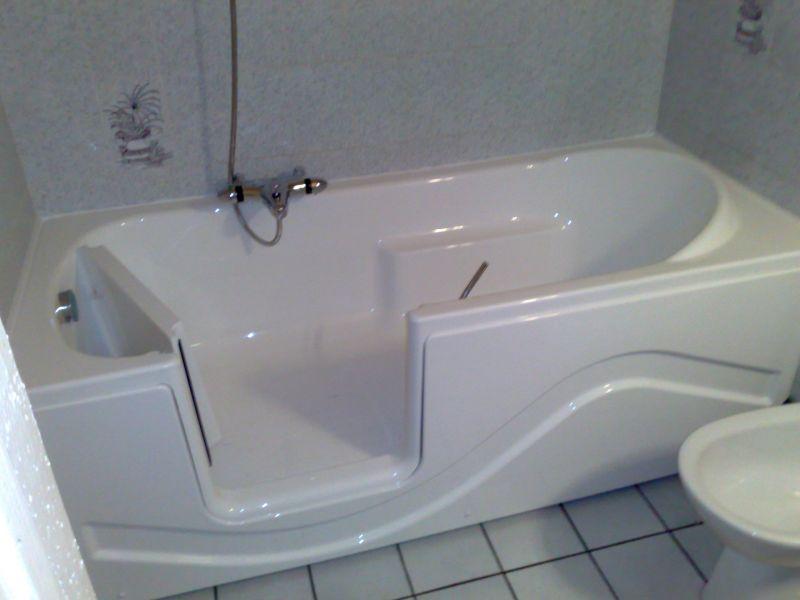 baignoire a porte pas cher