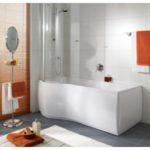 Baignoire avec douche intégrée
