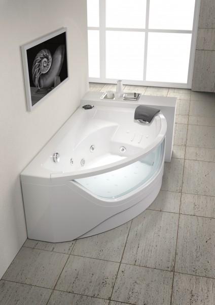 baignoire balneo asymetrique
