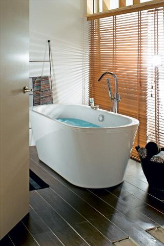 baignoire centrale
