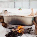 Baignoire chauffante