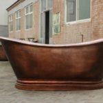 Baignoire cuivre