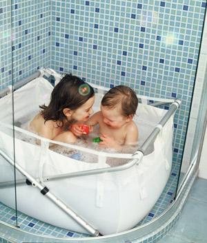 baignoire de douche enfant