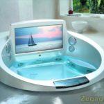 Baignoire de luxe