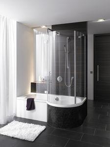 baignoire douche design