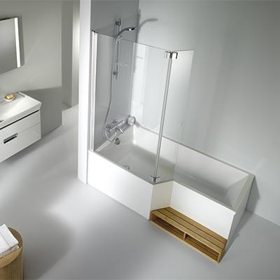 baignoire et douche