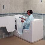 Baignoire handicapé