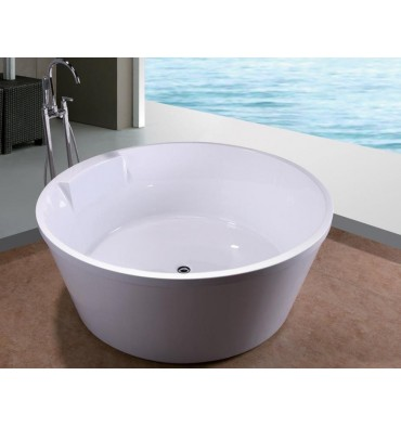 baignoire ilot ronde