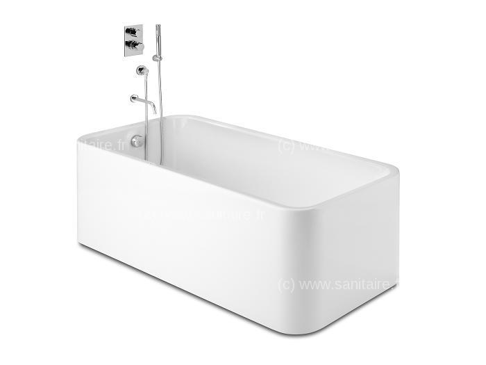 Lapeyre baignoire ilot excellent baignoire duangle gain - Robinet pour baignoire ilot pas cher ...