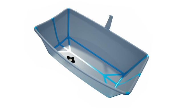 baignoire pliable pas cher latest table a langer pour. Black Bedroom Furniture Sets. Home Design Ideas