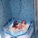 Baignoire pour douche