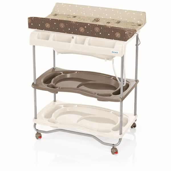 baignoire table à langer bébé