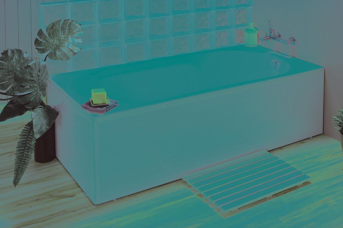 baignoire tablier