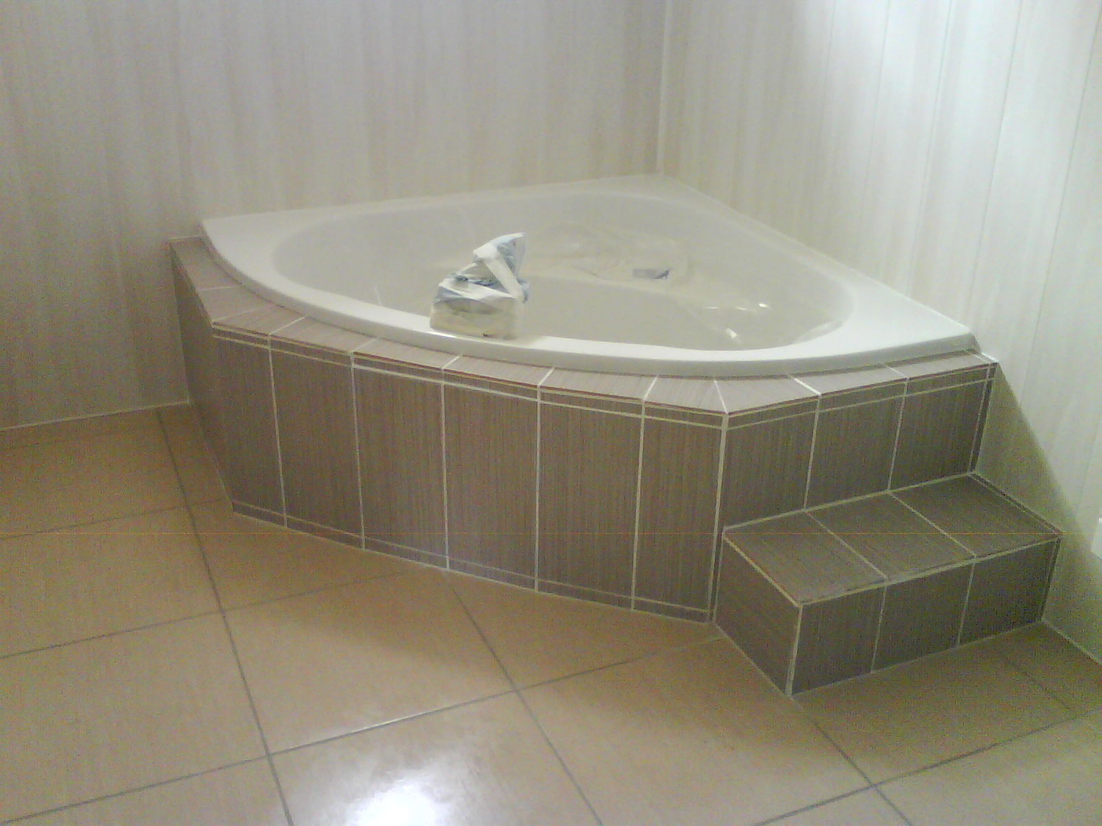 habillage baignoire d angle