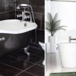 Petite baignoire design