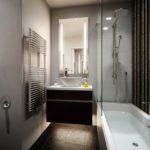 Salle de bain baignoire douche