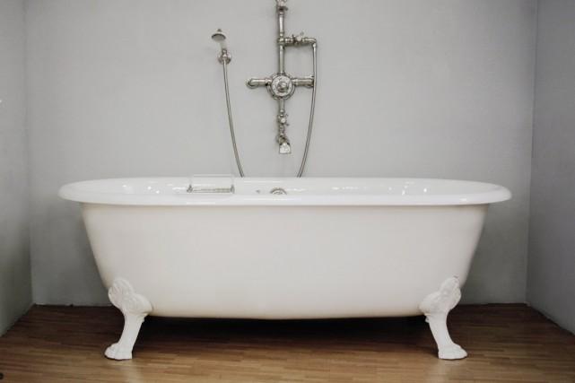 vieille baignoire