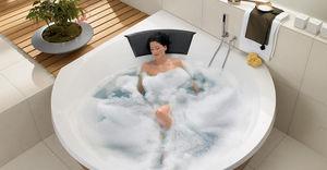 grande baignoire d'angle